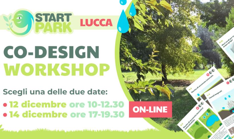 Start Park Lucca – Co-design Workshop